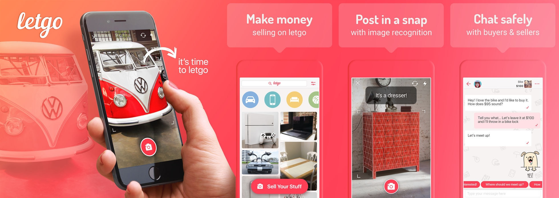 How to Post an Item on letgo